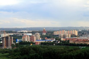 Kemerovo in the summer