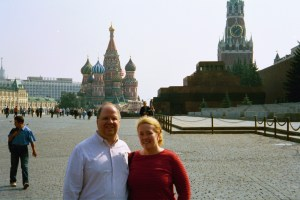 Red Square in Russia